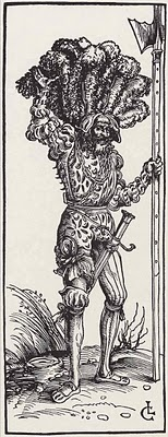 1505 - Landsknecht by Lucas Cranach the Elder.jpg